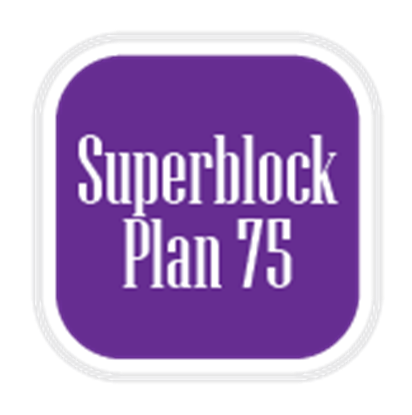 Commuters: Superblock Plan 75